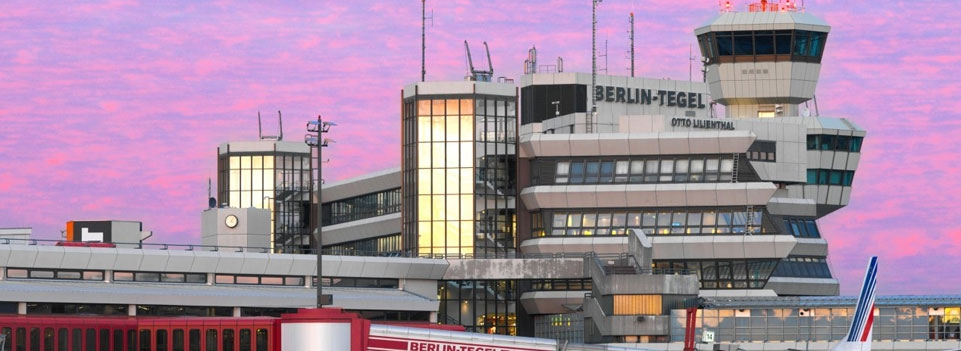 Airport Tegel in Berlin